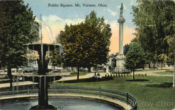 Public Square Mt. Vernon Ohio