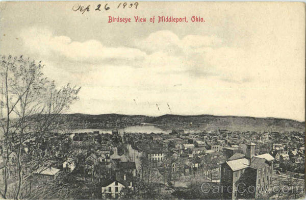 Birdseye View Of Middleport Ohio