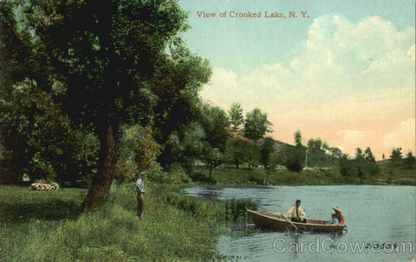 View Of Crooked Lake Scenic New York