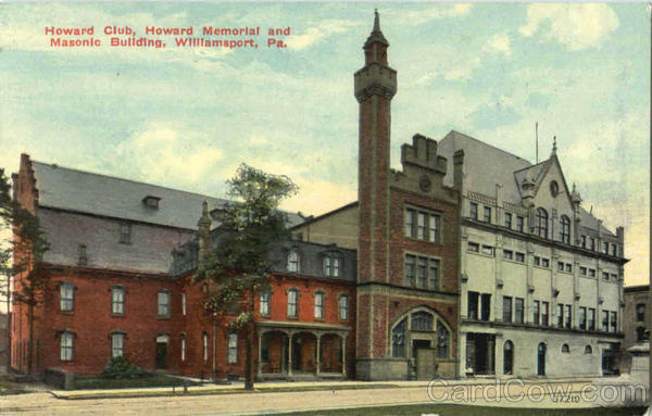 Howard Memorial And Masonic Building Williamsport Pennsylvania