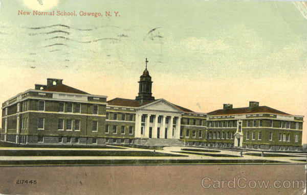 New Normal School Oswego New York