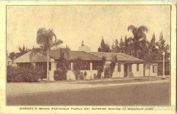 Barney's Restaurant Lake Wales Florida