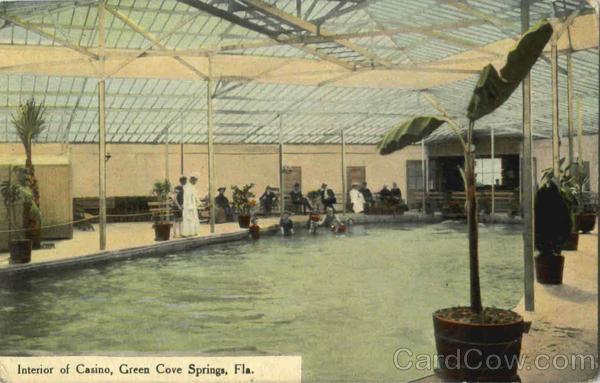 Interior Of Casino Green Cove Springs Florida