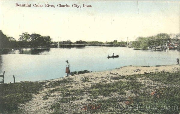 Beautiful Cedar River Charles City Iowa