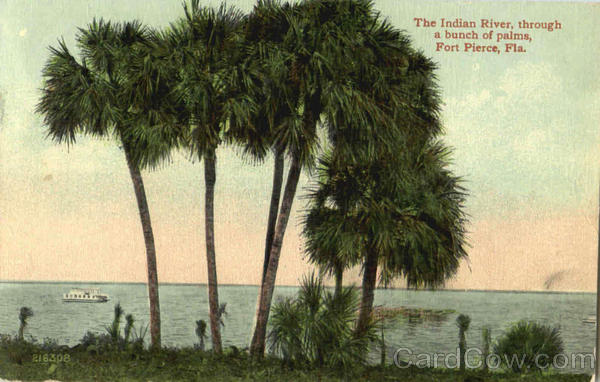 The Indian River Fort Pierce Florida