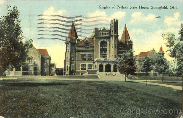 Knights Of Pythias State House Springfield Ohio