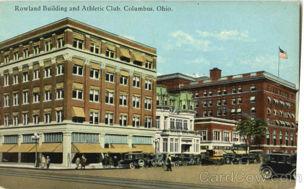 Rowland Building And Athletic Club Columbus Ohio
