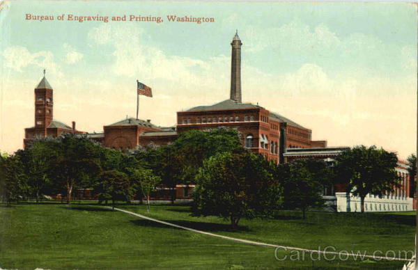Bureau Of Engraving And Printing Washington District of Columbia