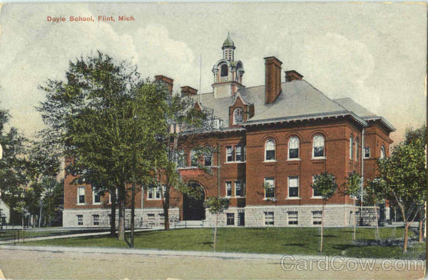 Doyle School Flint Michigan