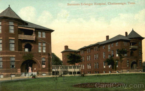 Baroness Erlanger Hospital Chattanooga Tennessee