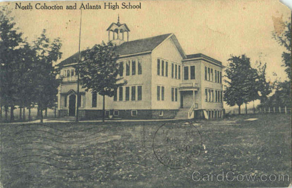 North Cohocton and Atlanta High School New York