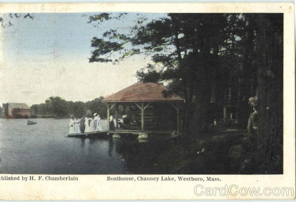 Boathouse, Chauncy Lake Westboro Massachusetts
