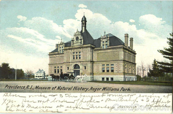 Museum Of Natural History, Roger Williams Park Providence Rhode Island