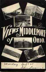 View Of Middleport Postcard