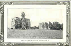The College Buildings Postcard