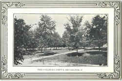 The College Campus Postcard