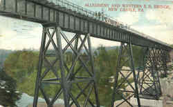 Allegheny And Western R. R. Bridge