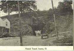 Natural Tunnel Postcard