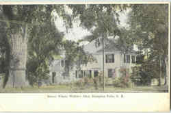House Where Whittier Died