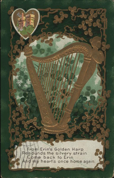 Irish Harp St. Patrick's Day