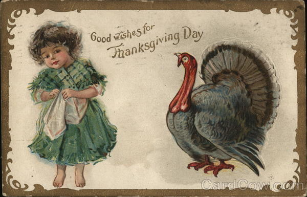 Good wishes for Thanksgiving Day Children