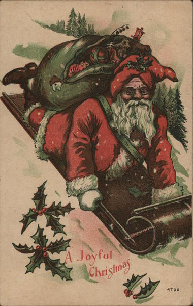 A Joyful Christmas Santa Claus