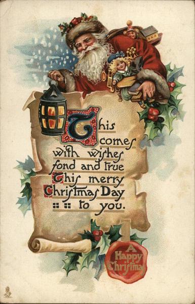 A Happy Christmas Santa Claus
