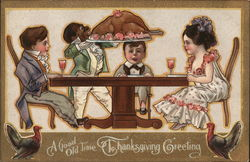 A Good Old Time Thanksgiving Greeting