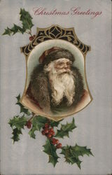 Christmas Greetings-Santa Claus