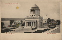 Grant's Tomb, New York City, Hold to Light