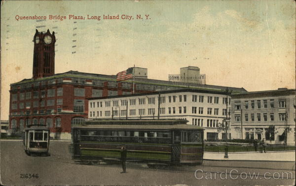 Queensboro Bridge Plaza Long Island City New York