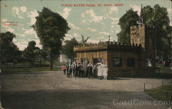 Public Baths Park St. Paul Minnesota