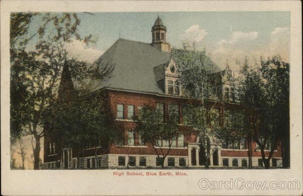 High School Blue Earth Minnesota