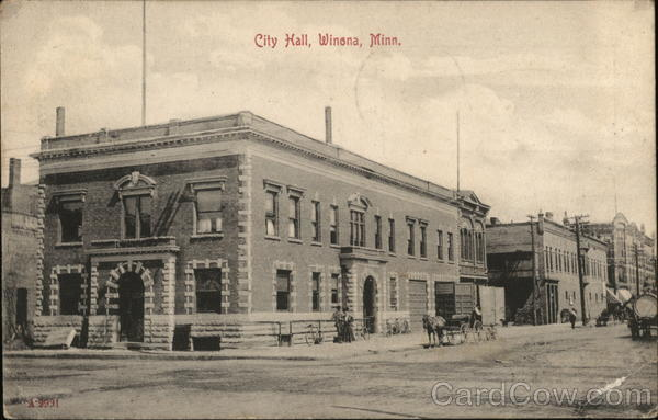 City Hall Winona Minnesota