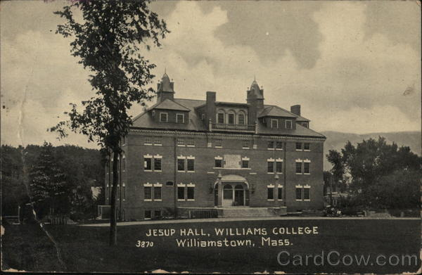 Jesup Hall at Williams College Williamstown Massachusetts