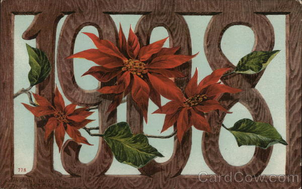 1908 Poinsettias Year Dates