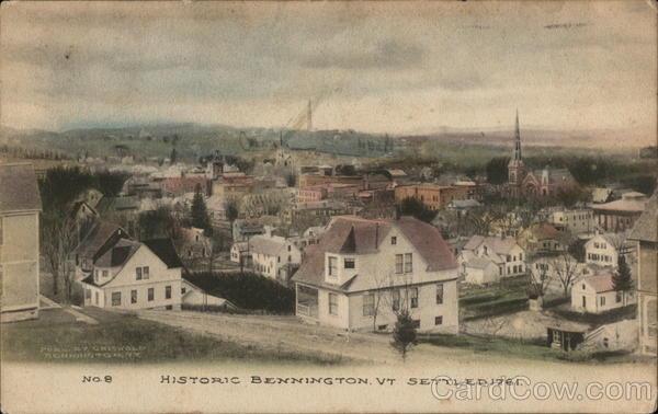 Historic Bennington, Settled 1761