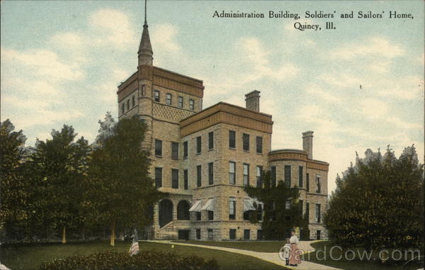 Administration Building, Soldiers' and Sailors' Home Quincy Illinois