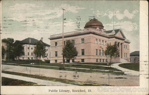 Public Library Rockford Illinois