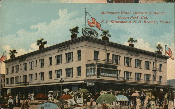 Midwinter Hotel Ocean Park California