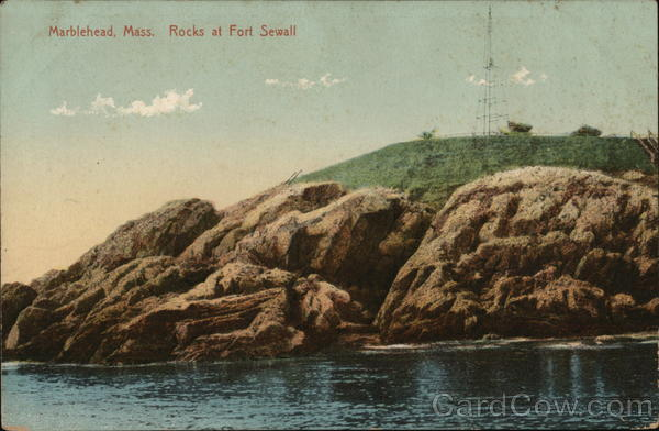 Rocks at Fort Sewall Marblehead Massachusetts