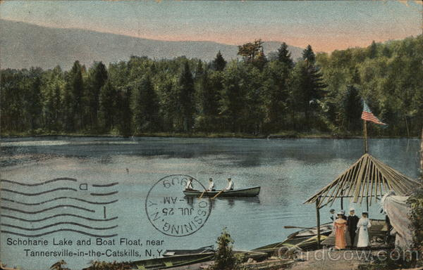 Schoharie Lake and Boat Float
