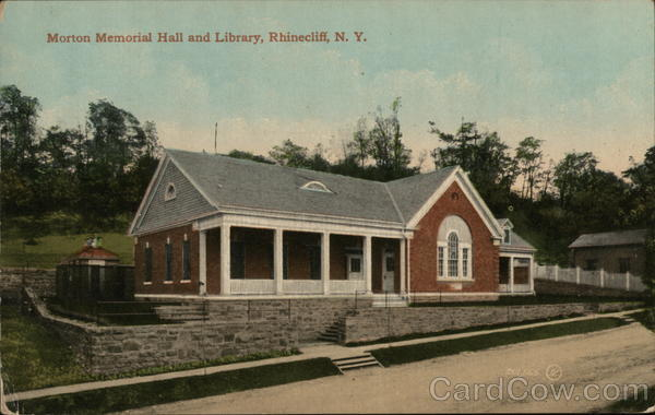 Morton Memorial Hall and Library Rhinecliff New York
