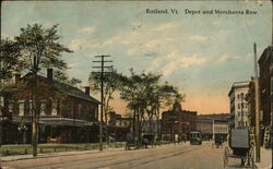 Depot and Merchants Row