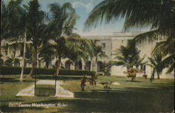 Golf Course, Washington Hotel