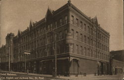 Hotel Maloney, Corner Eighth and Jackson Streets