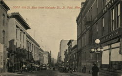 6th St. East from Wabasha St.