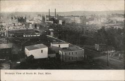 Birdseye View of South St. Paul