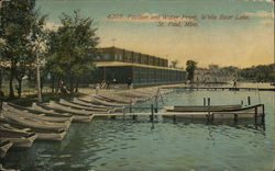Pavilion and Water Front, White Bear Lake