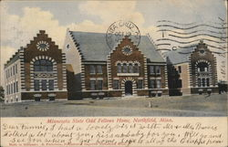 Minnesota State Odd Fellows Home Postcard